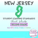 NJSLS Second Grade Cheat Sheets