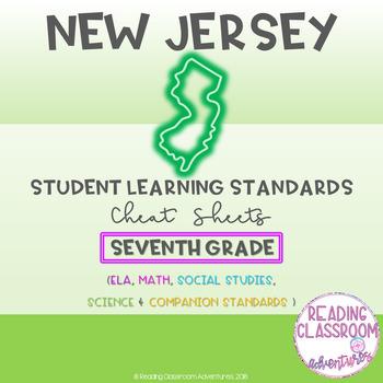 NJSLS Seventh Grade Cheat Sheets