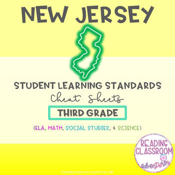 NJSLS Third Grade Cheat Sheets