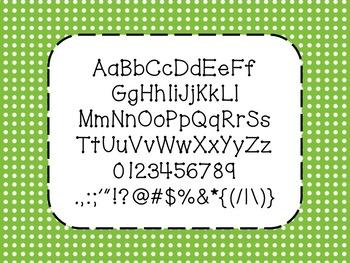 NK Dottie Font