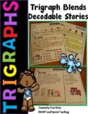 Trigraph Decodable Stories (3 letter blends scr spr str squ, spl, shr, and thr )