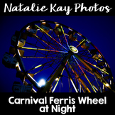 NK Photos - Carnival Ferris Wheel at Night