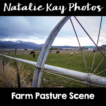 NK Photos - Farm Pasture Scene