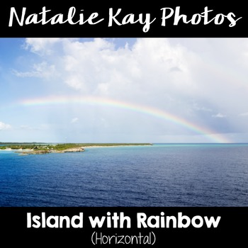 NK Photos - Island with Rainbow