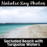 NK Photos - Secluded Beach with Turquoise Waters