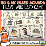 NK and NG Glued Sounds:  I Have, Who Has Game