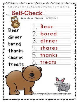 NLAGB Activities for BEAR SAYS THANKS