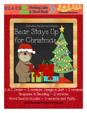 NLAGB Activities for Bear Stays Up for Christmas