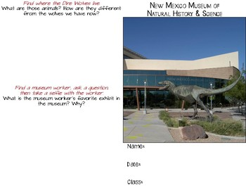 NM Museum of Natural History & Science Booklet