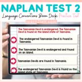 NAPLAN ENGLISH ONLINE GRAMMAR & PUNCTUATION: TEST 2 BOOM D
