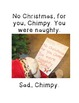 NO, Chimpy! (Compare adventures of characters in two texts)
