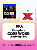 NO: Complete Core Word Activity Set