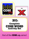 NO: Complete Core Word Activity Set