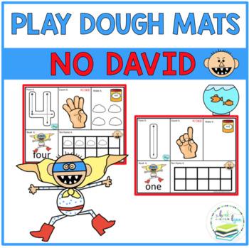 NO DAVID PLAY DOUGH MATS