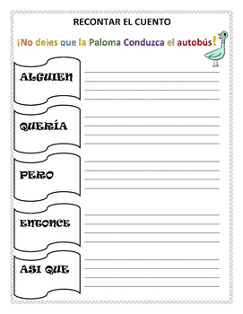 NO DEJES QUE LA PALOMA CONDUZCA EL AUTOBÚS- ORGANIZADOR GRAFICOS