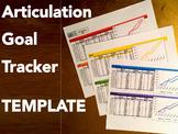 Articulation Goal Tracker TEMPLATE