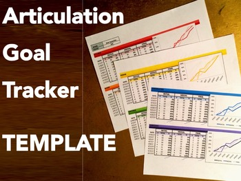 Articulation Goal Tracker TEMPLATE