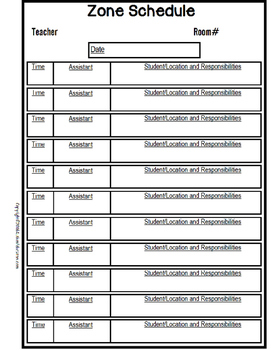 special education schedule template - lesson plan forms editable with schedule templates for