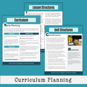 NO FRILLS Playbook for Teachers: Fundamental Classroom Structures & Systems