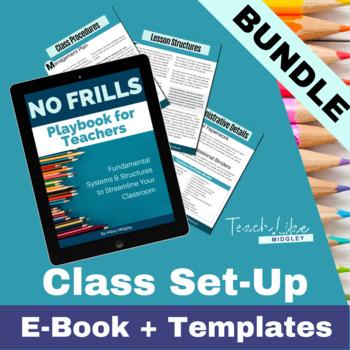 Classroom Systems & Structures Teacher Foundations Bundle