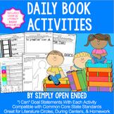 FREE READING RESPONSE Weekly Activities, Homework, Literature Circles