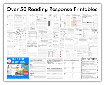 FREE READING RESPONSE Weekly Activities, Homework, Literature Circles