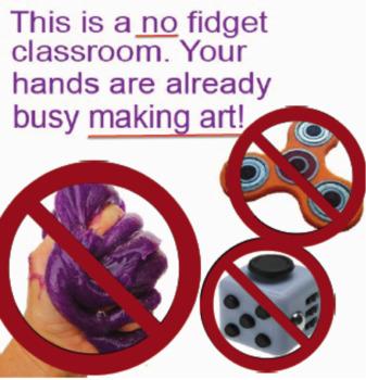 NO Fidget Classroom