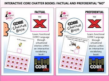 NO: Interactive Core City Chatter Books