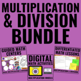 Multiplication and Division Bundle for Guided Math