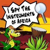 I Spy Game - The African Instruments Studies