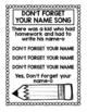 NO NAME SONG