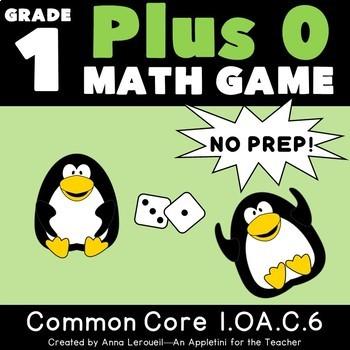 NO PREP 1st Grade Plus 0 Game