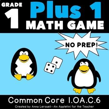 NO PREP 1st Grade Plus 1 Game