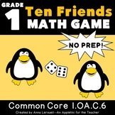 NO PREP 1st Grade Roll a Ten Friend Game