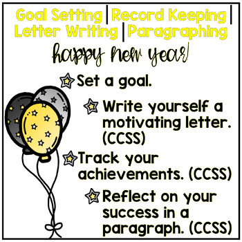 New Year Resolution Project! UPDATES FOR LIFE! Students Set & Reach Goals!