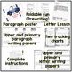 New Years Resolution ELA!  Letters, Flip Book, and Paragraph Fun! CCSS!