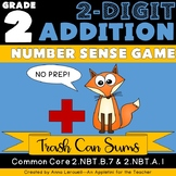 NO PREP 2nd Grade 2-Digit Addition Number Sense Game
