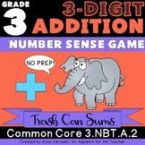 NO PREP 3rd Grade 3-Digit Addition Number Sense Game
