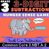 NO PREP 3rd Grade 3-Digit Subtraction Number Sense Game
