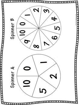 NO PREP 3rd Grade Multiplication Strategies Flexible Spin  Game