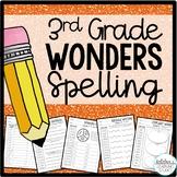 3rd Grade Wonders Spelling Worksheets