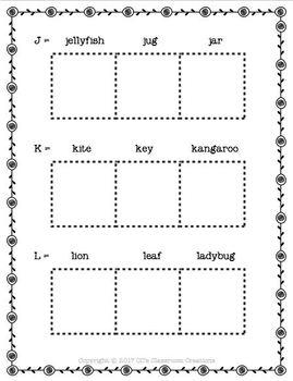 NO PREP A-Z Copy-N-Paste Worksheets