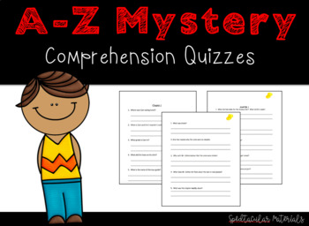 NO PREP A-Z Mysteries White House White-Out Reading Comprehension Packet/Quiz