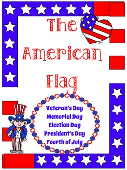 NO PREP-AMERICAN FLAG and PLEDGE OF ALLEGIANCE Reading & Writing