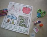 NO PREP Alphabet Worksheets