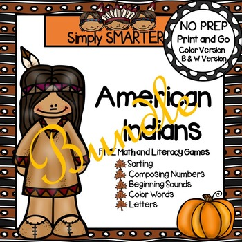 NO PREP American Indians Games Bundle