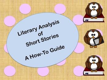 NO PREP Analyzing Short Stories PPT