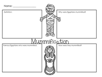 Ancient Egypt Worksheets & Printables