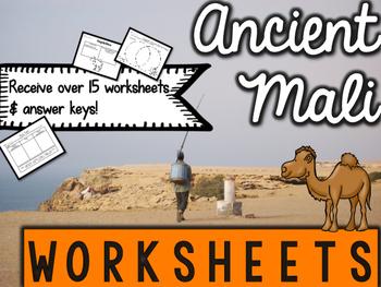 Ancient Mali Worksheets & Printables