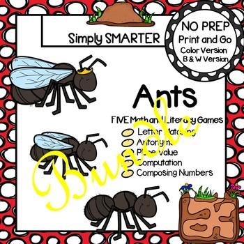 NO PREP Ant Games Bundle